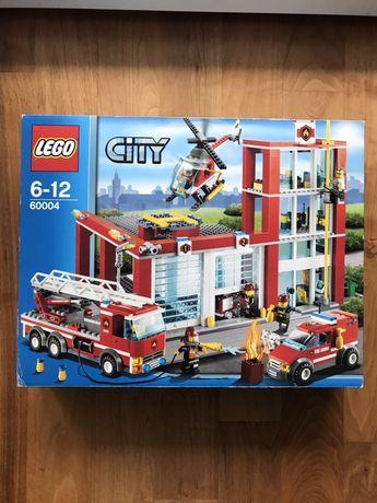 Klocki Lego 60004 zestaw Remiza Strażacka Straż Pożarna