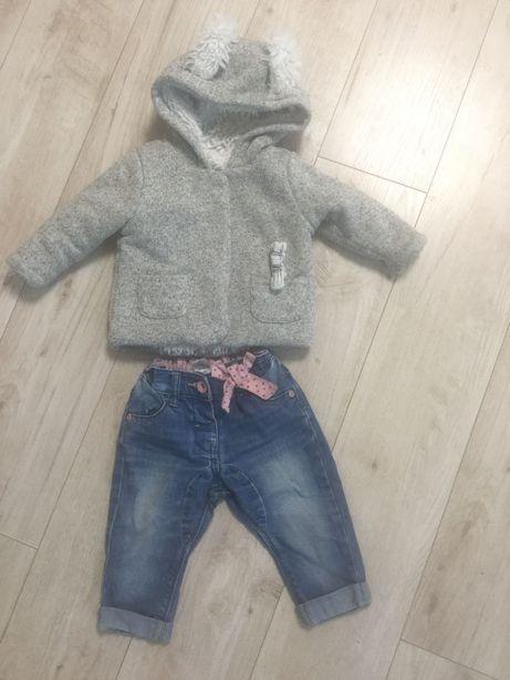 Тёплая ветровка и джинсики от  next
