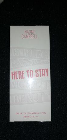 Here to stay naomi Campbell 30ml woda toaletowa perfum nowy folia edp