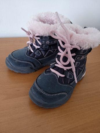 Ciepłe buciki dla dziewczynki