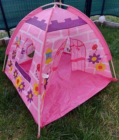 Namiot ogrodowy dla dziewczynki