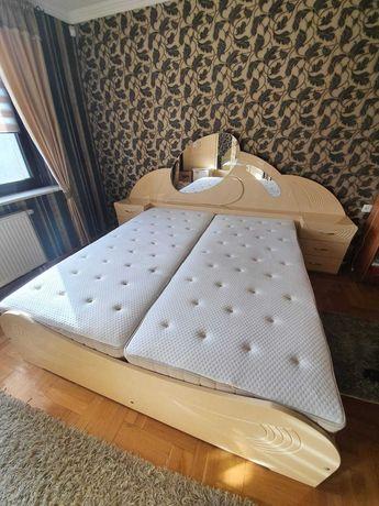 Sypialnia łóżko szafa toaletka