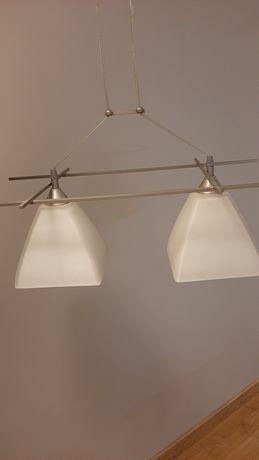 Lampa wisząca sufitowa szklana
