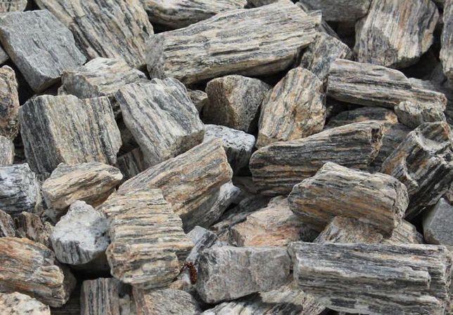 KORA KAMIENNA Kamień do Ogrodu Gabionów Gnejs Antracytowa URSYNÓW Pyry