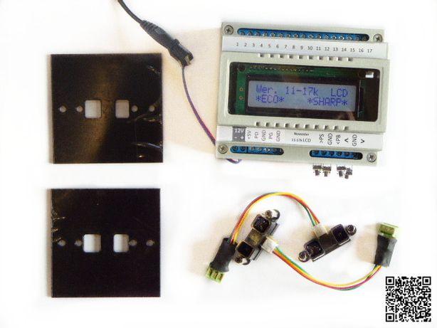 Sterownik schodowy LED do sterowania oświetleniem schodów czujki Sharp