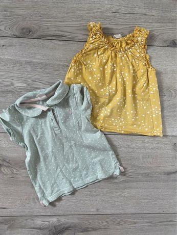 Bluzki koszulki H&M 80/86