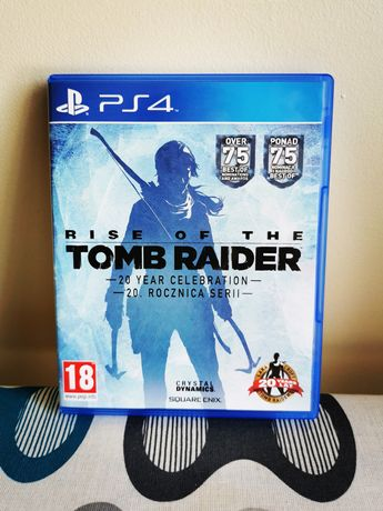 Gra Rise Of The Tomb Raider na PS4