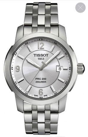 Часы TISSOT PRC 200 T014.410.11.037.00 швейцарские б/у