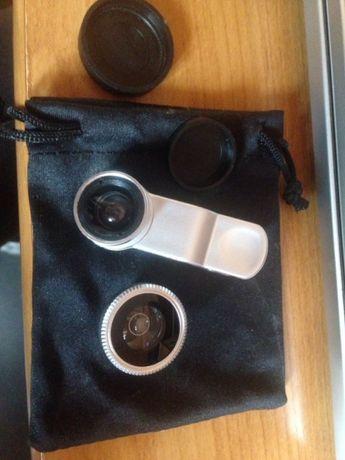 Soczewka na telefon fish eye, wide