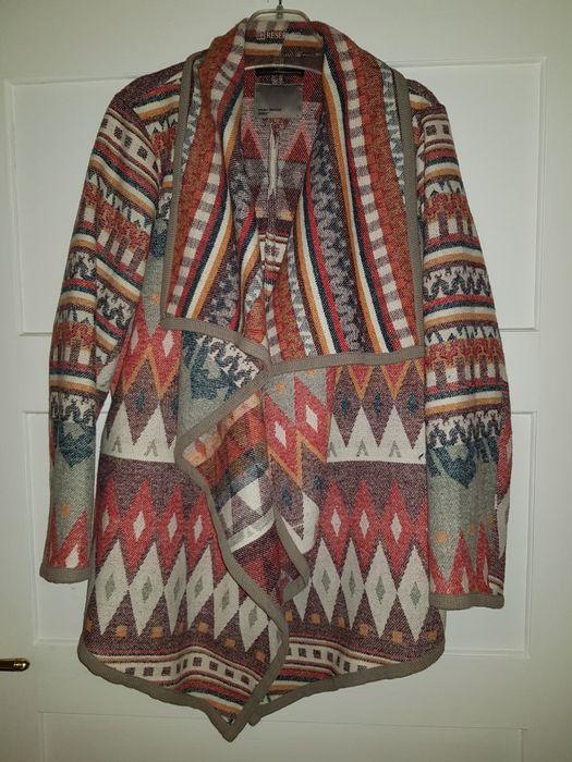 Narzuta sweter kardigan XL oversize Krajenka - image 1