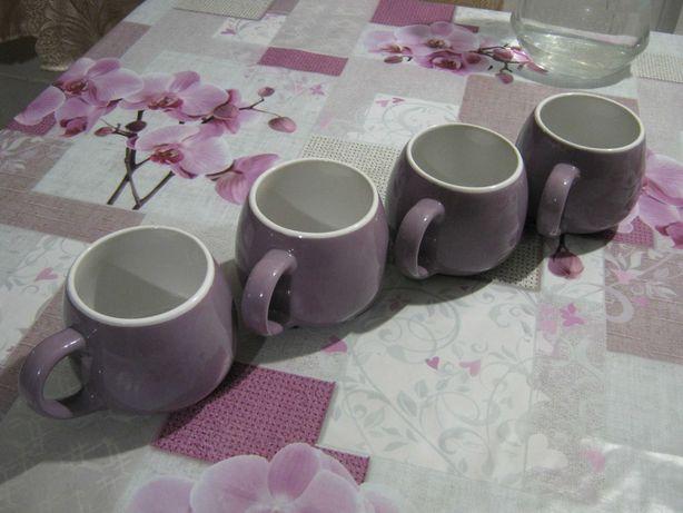 Набор из четырех чашек для чая. Чайный набор. Обьем 350 мл
