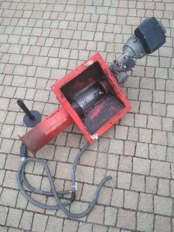 Motoreduktor silnik i rura podajnika do kotła Klimosz Ling Duo