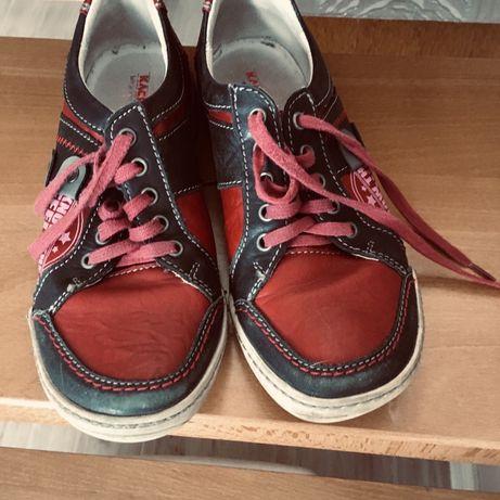 Buty adidaski  Kacper skórzane 38 chłopięce