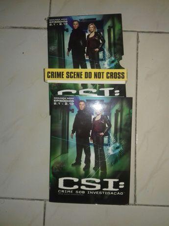 Filme DVD CSI segunda série