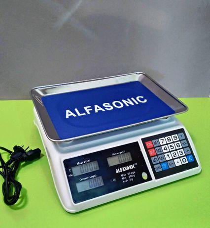 Торговые веса Alfasonic абсолютно новые Для магазинов и рынков