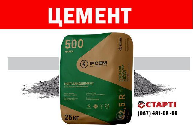 Цемент ПЦ-500 IFCEM (Івано-Франківськ), 25 кг
