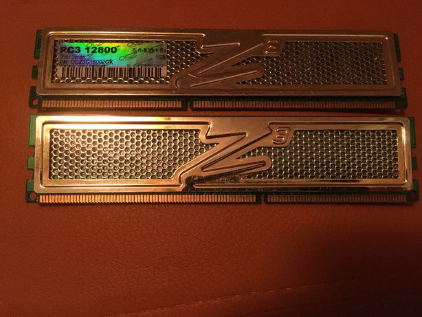 Предлагаются к продаже две планки оперативной памяти OCZ Gold Series
