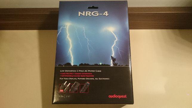 Kabel zasilający NRG - 4 renomowanej marki AUDIOQUEST