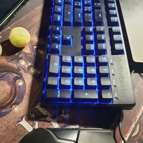 Игровая механическая клавиатура SteelSeries Apex M500