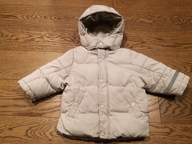 Ciepła kurtka zimowa H&M r. 86