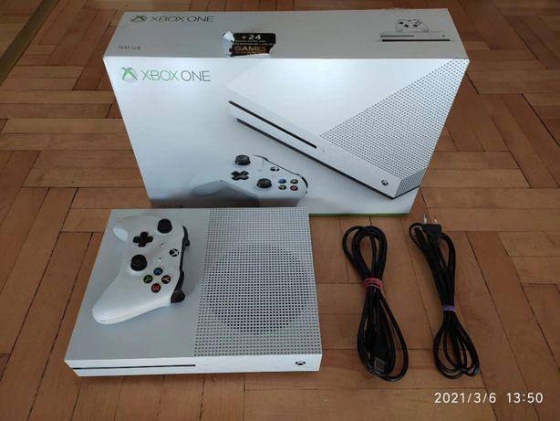 Xbox One S 500Gb z napędem Pad BDB STAN