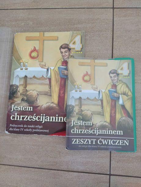 Jestem chrześcijaninem.. religia kl4.  podręcznik +ćw..