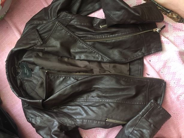 Продам кожанную курточку Ostin (оригинал)