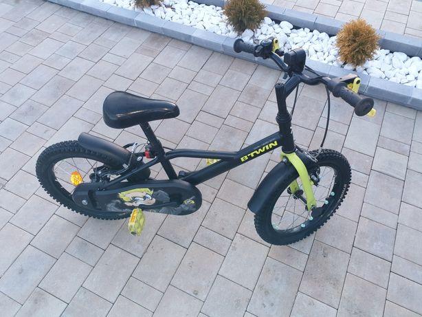 Rower dla chłopca 16 cali dark hero 500 b twin