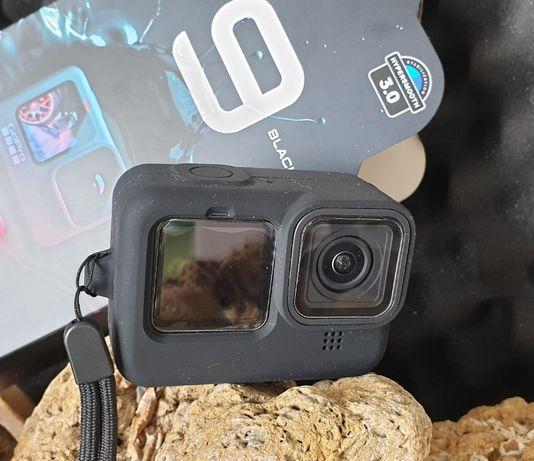 GoPro 10 e 9 Black - Capa Silicone + Tapa Lentes - Novo -Portes Grátis