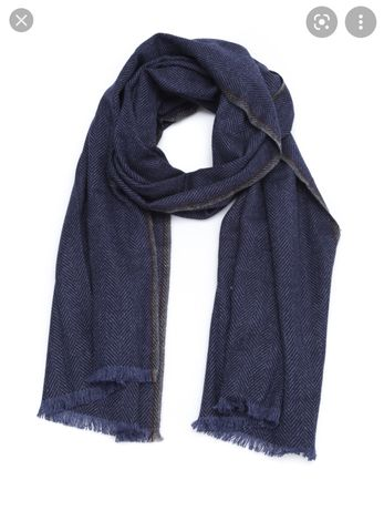 Кашемировый шарф Brunello Cucinelli Herringbone