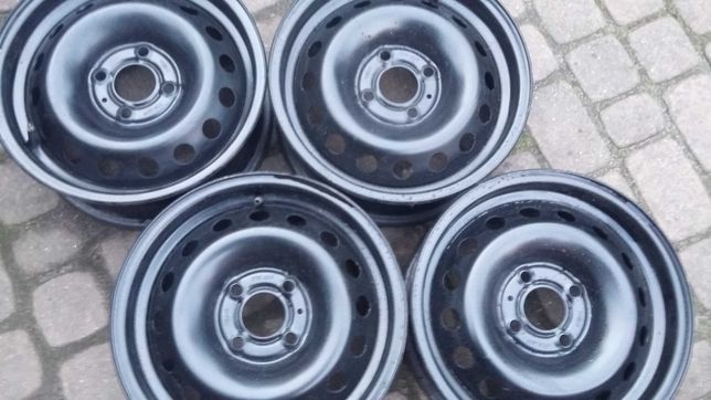 Komplet felg stalowych 5,5Jx14H2 4x100 ET36 Renault Nissan Micra