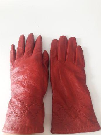 Rękawiczki ze skóry  roz.S