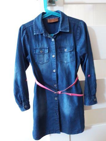 Sukienka dżinsowa, rozmiar 122, coolclub