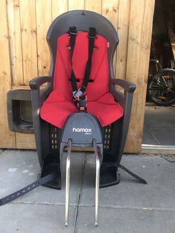 Fotelik rowerowy hamax smiley plus adapter