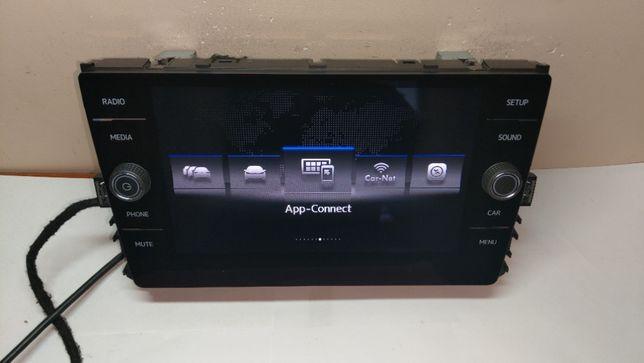 Ekran Vw Golf 7 Radio oryginalny 5G 8 cali Multimedialny