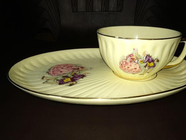 Chávena e prato Estatuária