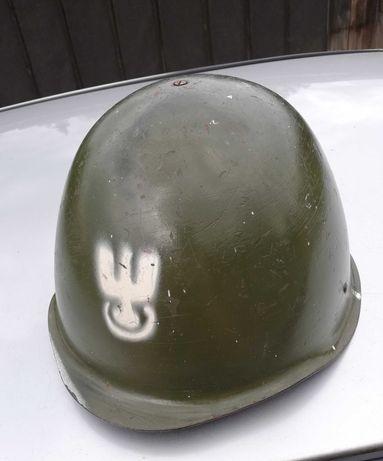 Kask wojskowy zielony