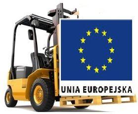 Kurs wózki widłowe uprawnienia na całą Unie Europejską