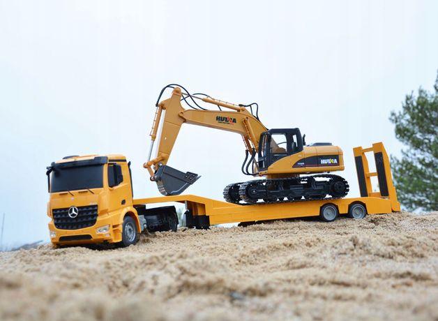 Samochód Laweta MERCEDES Ciężarówka RC Auto 103 cm Prezent