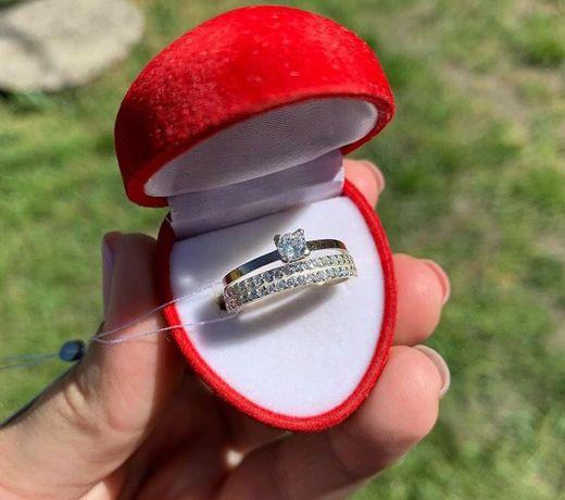 Кольцо серебро, золото, шарм Пандора, каблучка срібна, золота, жіноча