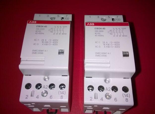 Контакторы ABB ESB 20-20, ESB-24-40