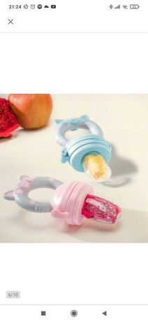 Silikonowy smoczek dla niemowląt podajnik Owoców