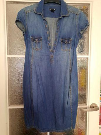Sukienka ciążowa H&M Mama jeansowa roz S
