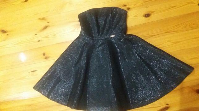 Sukienka Czerna z połyskiem
