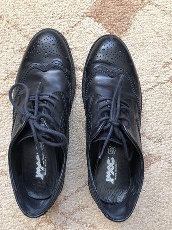Туфли женские кожаные Imac ботинки