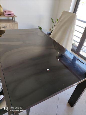 Vendo mesa de sala extensível