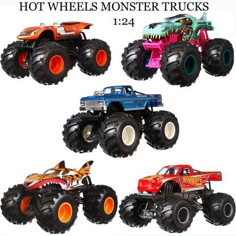 Машинка Монстер Трак хот вилс 1:24 Hot Wheels Monster Trucks хот вілс