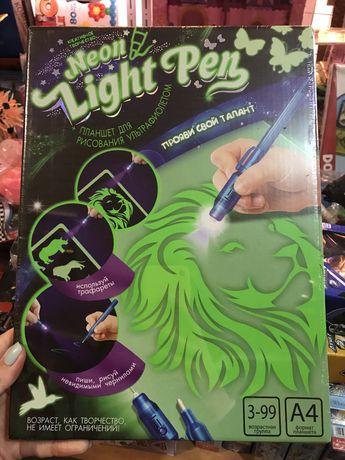 Планшет для рисования ультрафиолетом