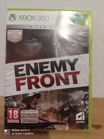 Oryginalna gra Enemy Front. Xbox 360