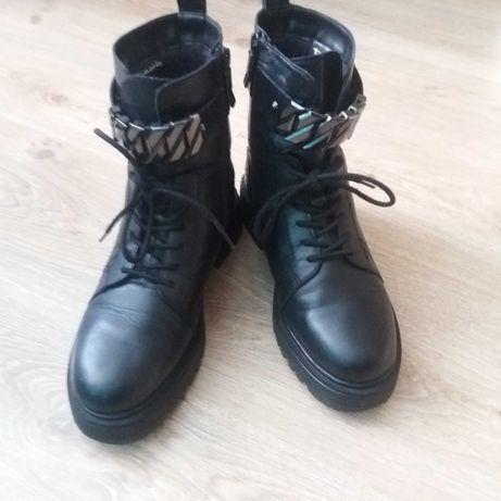 Ботинки кожанные женские Tamaris Германия